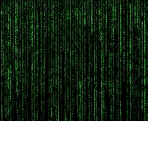 image kind of like the style from matrix with green and background like the idea of hacking a mainframe